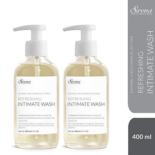 Sirona Refreshing Intimate Wash 200 ml Pack of 2