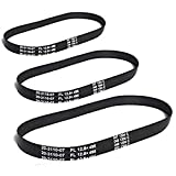 Replacement for Eureka Smart Vac Belt 4800 Series 4870, 4872, 4874, 4875, 4880, 4885 (3 Belts)