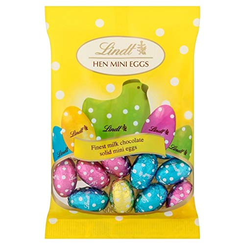 Lindt Hen Mini Easter Eggs 90G