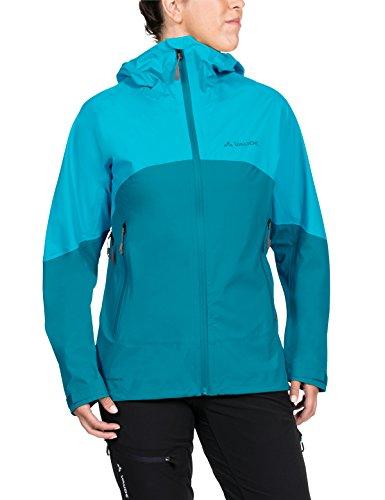 VAUDE Damen Women's Croz 3L Jacket II Jacke, Alpine Lake, 44