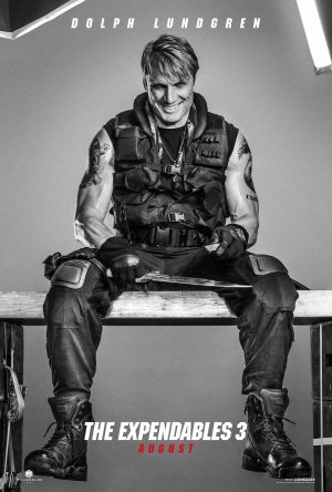 EXPENDABLES 3 – DOLPH LUNDGREN – Imported Movie Wall Poster Print – 30CM X 43CM Brand New