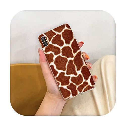 Phone cover Moda Tiger Leopard Print Panther Colorido lindo teléfono caso para Iphone Se 2020 11 Pro Xs Max 8 7 6 6S Plus X 5 5S Se Xr-A12-Para Iphone Se 2020