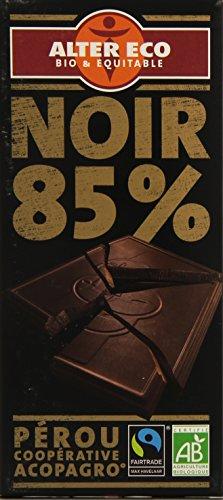 puissant Tablette de chocolat noir Old Eco, 85% biologique, 100g