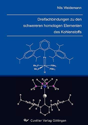 Dreifachbindungen zu den schwereren homologen Elementen des Kohlenstoffs