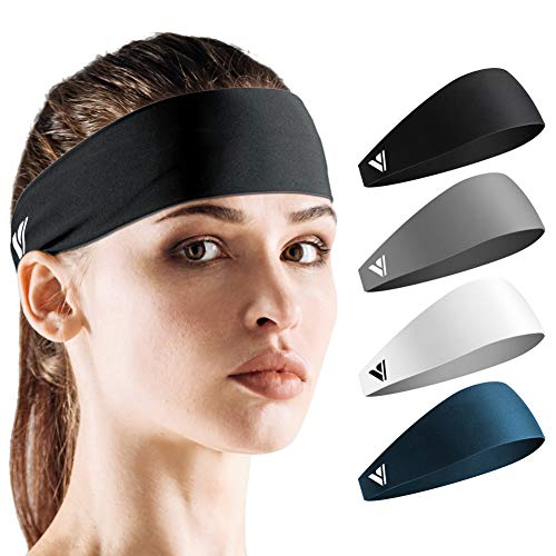 Vgogfly Sweat Headbands for Men Sweatbands for Women Headband Running Sweat Bands Headbands Men Workout Sports Hairband for Men Thin Fitness Gym Yoga Men Headband