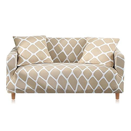 WXQY Todo Incluido, Antideslizante, segmentado, elástico, Completo, sofá, sofá, Toalla, sillón, Esquina, sofá, sofá, Cubierta, A6, 4 plazas
