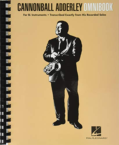 Cannonball Adderley: Omnibook - For B Flat Instruments