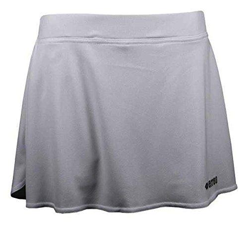 ROS AD trainingsrok (kort) van Erreà · Dames tennisrok met geïntegreerde binnenbroek (kort) · Regular Fit sportbroekrok (zeer licht) voor teamsport · PERFORMANCE sportdroger (comfortabel) van elastisch materiaal (kleur wit, maat XL)