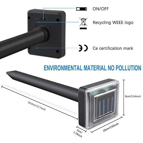 XMSTORE Upgrade Mole Repellent