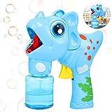 Xionghonglong Máquina de Burbujas,Niños Maquina Pompas Jabon ,Portátil Máquina de Burbujas ,Maquina Pompas Jabon con solución de jabón ,Soplador de Pompas Jabon,Juguetes Burbujas para Niños (Azul)