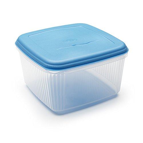ADDIS 510435 - Contenitore quadrato per alimenti, 10 litri, Colori Assortiti.