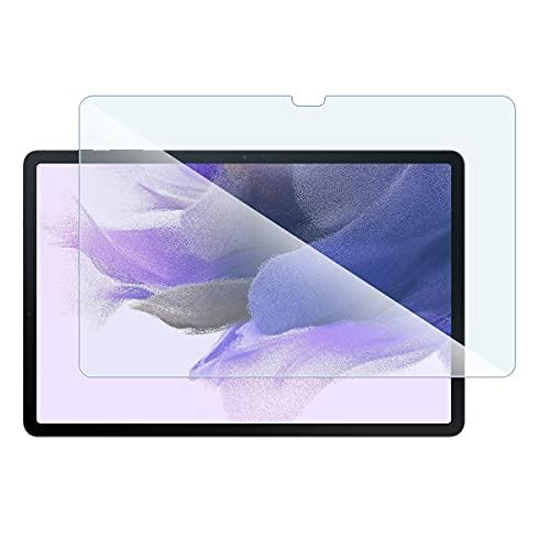 "Protector de pantalla de cristal Nano flexible, dureza 9H, ultrafino 0,2 mm y 100% transparente para tablet Samsung Galaxy Tab S7 FE de 12.4"" (2021)"