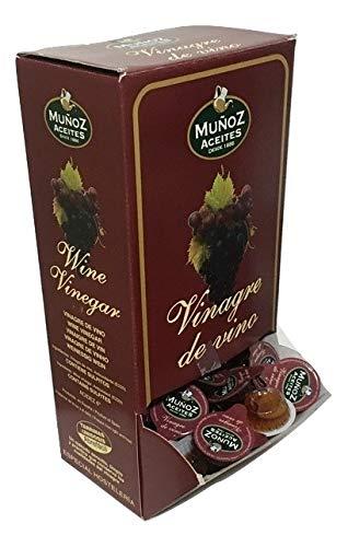 168 MONODOSIS de vinagre de vino de 10 ml | PRODUCTOEXTRA
