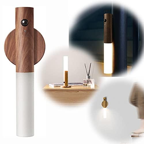 GHMPNLG Luz de pared de noche Smart Led, luz de la noche de inducción del cuerpo humano inteligente, sensor de movimiento PIR, luces de noche adecuadas para dormitorio, baño, inodoro, escaleras, cocin