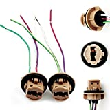 7440 harness - iJDMTOY 7440 7443 Wiring Harness Sockets Compatible With LED Bulbs, Turn Signal Lights, Brake Lights
