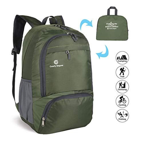 ComfyDegree - Packable Ultralight Hiking Backpack, Foldable Lightweight Multi-functional...