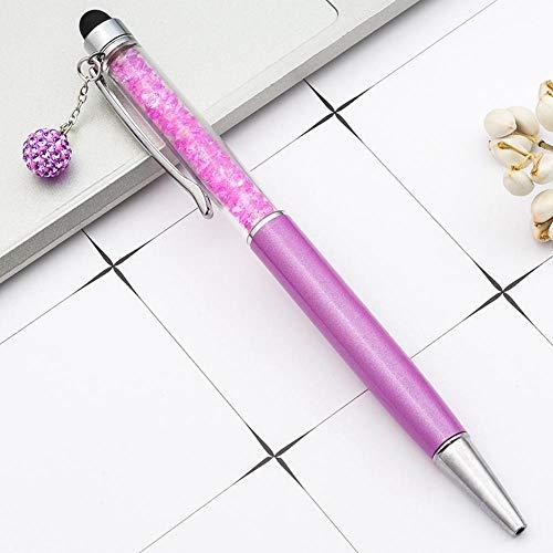 TOPNCMDH Creativo pantalla táctil bolígrafo bolígrafo creativo papelería útiles escolares 10pc @ style6