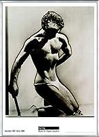 ポスター マン レイ Male Figure Study 1933 額装品 アルミ製ベーシックフレーム(シルバー)