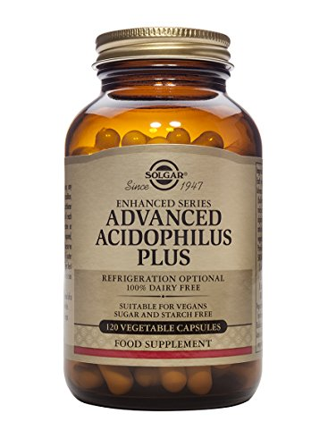 Solgar Advanced Acidophilus Plus - 120 Vegetable Capsules
