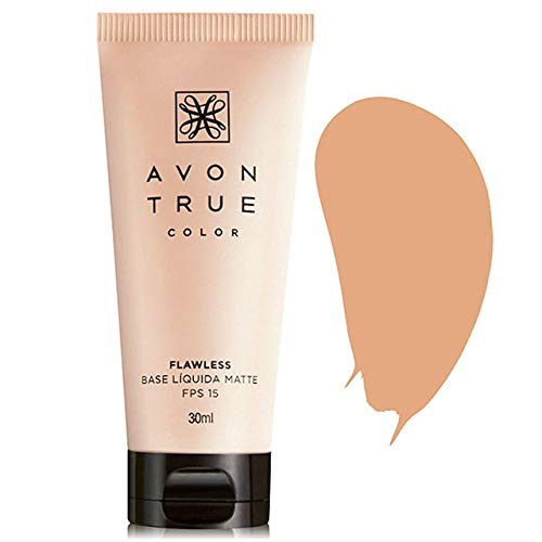 Base Líquida Avon Matte FPS 15 True Color 30ml Bege médio