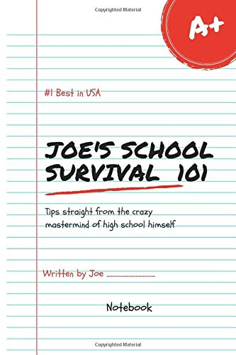 Joe's School Survival Lol Best in USA Notebook Journal 120 Lined pages 6x9 (Notebook name, Band 1)