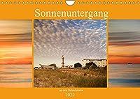 Sonnenuntergang an der Ostsee (Wandkalender 2022 DIN A4 quer): Faszinierende Sonnenuntergaenge (Monatskalender, 14 Seiten )