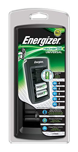 Energizer- Caricabatterie Universale Rapido (Imballaggio può variare)
