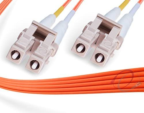 Max 75% OFF FiberCablesDirect - 80M OM1 LC 1Gb Patch OFFicial shop Duplex Cable Fiber