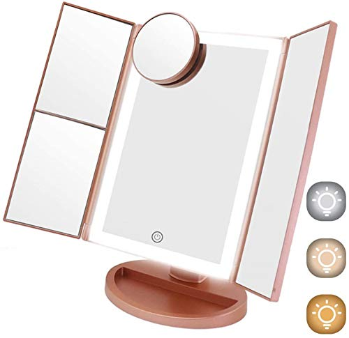 Lighted Makeup Mirror For Teens