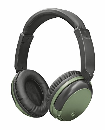 Trust Urban Kodo Cuffie Wireless Bluetooth, Verde