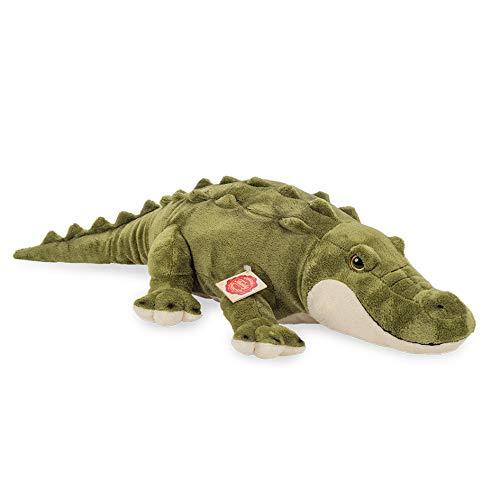 Teddy Hermann 90592 Krokodil 60 cm, Kuscheltier, Plüschtier