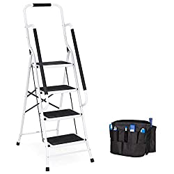 Best Choice Products 4-Step Portable Folding Ladder