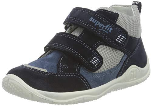 Superfit Universe Sneaker, BLAU/GRAU, 24 EU