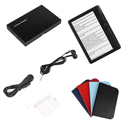 Guangcailun Lector de libros electrónicos de 7 pulgadas E-libro de la tableta HD reproductor de música MP3 portátil TFT Sn lectura de la tableta 4G enchufe de la UE