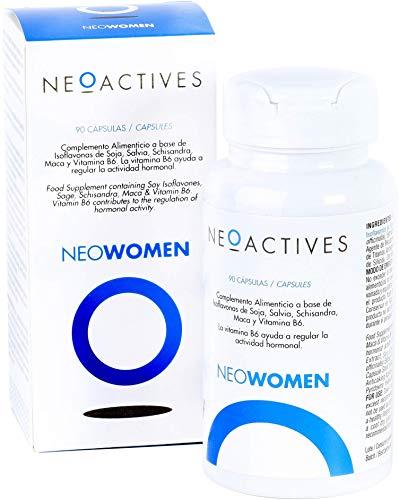 NeoWomen | Fórmula para mujeres | Contribuye a regular actividad hormona | Complemento concentrado, solo 1 capsula día (90)