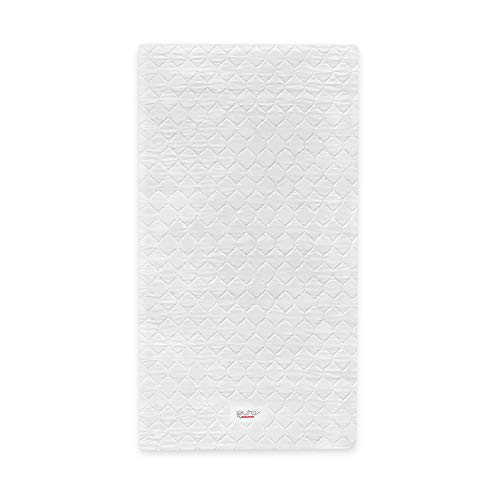 Babyletto Pure Core Non-Toxic Mini Crib Mattress with Hybrid...