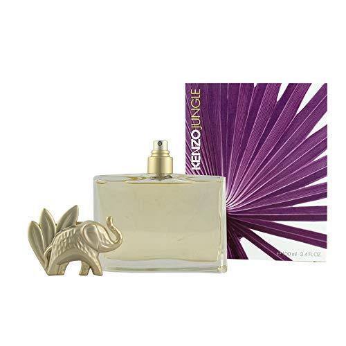 Kenzo Jungle Mujeres 100 ml - Eau de parfum (Mujeres, 100 ml, Cardamomo, Mandarin, Mango, Clavo, Heliotropo, Regaliz, Pachuli, Vainilla, Ylang ylang, Aerosol)
