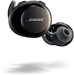 TRULY wireless Sport headphones for total freedom of movement, packed full of technology that makes music sound clear and powerful Earbuds are sweat and weather resistant (with an Ipx4 rating) and come with 3 different pairs of Stay hear and Sport ti...