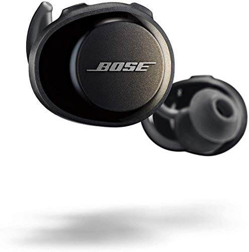 Bose 774373 SoundSport Free Cuffie Wireless, Bluetooth, Controllo tramite App (iOS/Android), Nero (Triple Black)