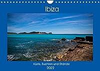 Ibiza Kueste, Buchten und Straende (Wandkalender 2022 DIN A4 quer): Reiseziel Ibiza, nicht nur eine Partyinsel. (Monatskalender, 14 Seiten )