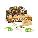 hujio Aoligei 12 Huevos de Dinosaurio, Juguetes de Excavación Arqueológica de Dinosaurio, Regalo Infantil para Aprender Ciencias de la ArqueologíaDinosaur Skeleton Set