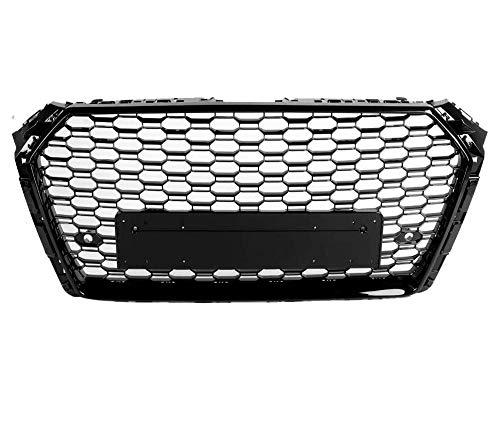 Xinshuo Rejilla del radiador de malla tipo ABS tipo panal de ABS para RS4 estilo A4 / S4 B9 2017-2018