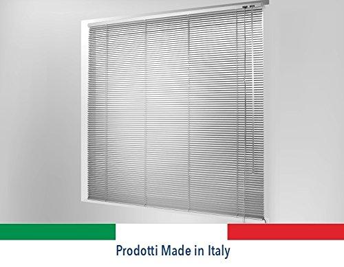 ORTENDE - Tenda Veneziana, Tende Veneziana in Alluminio da 15 mm Versione Standard, Produzione su Misura, Non Kit Cinesi di pessima qualità