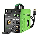 REBOOT MIG saldatore MIG175 Gas e senza gas lift TIG DC 220 V Inverter Saldatrice MMA MIG MAG IGBT Inverter