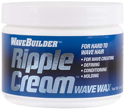 WaveBuilder Ripple Cream | Wave Wax For Hard to Wave Hair, 5.4 oz