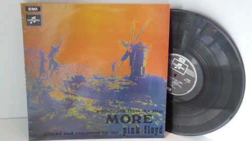 PINK FLOYD soundtrack from the film more played and composed by pink floyd, SCX 6346