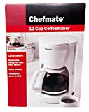 Chefmate 12 Cup Coffeemaker in Whit