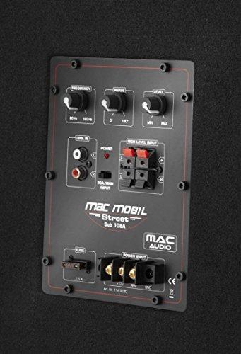 Mac Audio Mac Mobil Street 108 A-Aktiver Kompakt Subwoofer mit Digitalverstärker