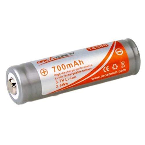 ORCA 14500 - Bateria para linterna de buceo ORCA 700 MAH