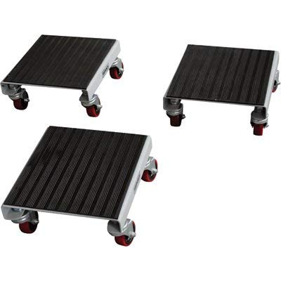 Roughneck 3-Pack Utility Dolly Set - 1,500Lb. Capacity, Steel